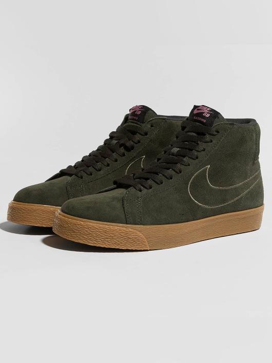 Nike SB Sneaker Zoom Blazer Mid braun