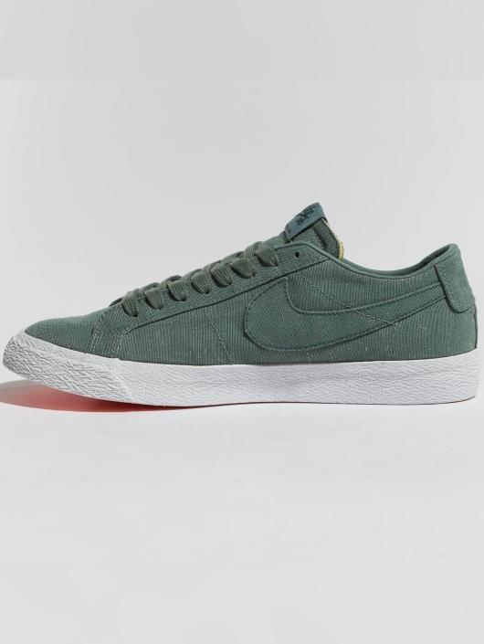 Nike SB Sneaker SB Zoom Blazer Low Canvas Deconstructed grün
