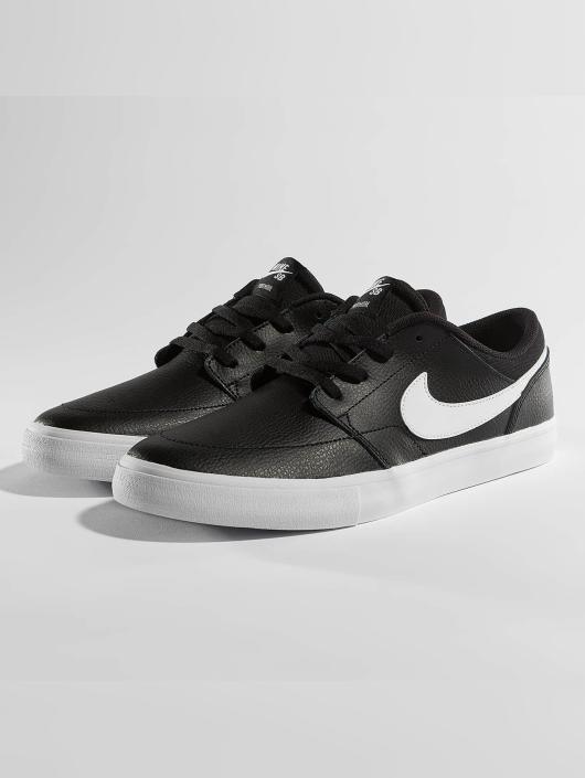 Nike SB Tøysko SB Solarsoft Portmore ll Premium Skateboarding svart