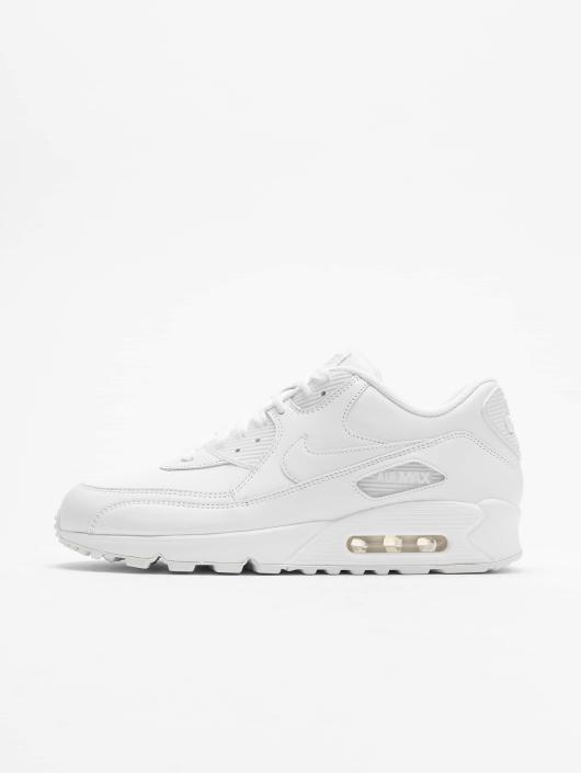 Nike Air Max 90 Leather Sneakers WhiteWhite