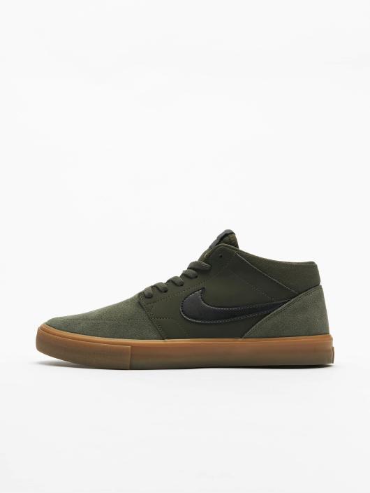 Nike Sneakers SB Solarsoft Portmore ll Mid Skateboarding zelená