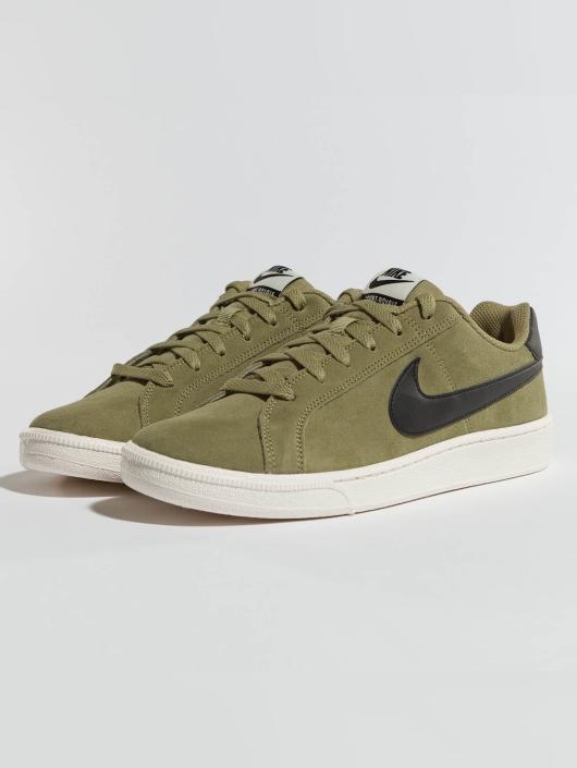 Hombres Zapatillas de deporte Court Royale Suede in oliva Puro elogio Nike - Hombre Calzado ZKDNOTT