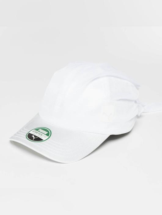 Puma Lastebilsjåfør- / flexfitted caps Bandana hvit