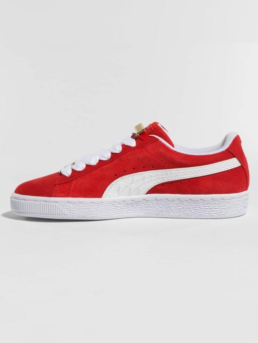 Puma Sneaker BBoy Fabulous Suede Classic rosso