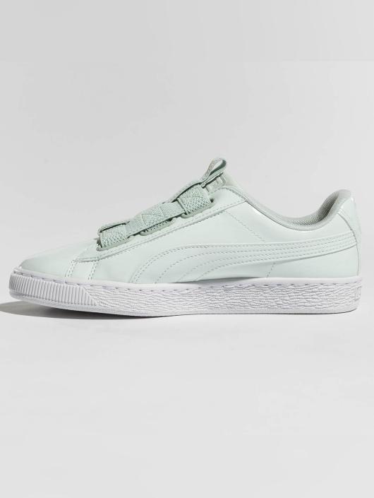 56d64d84841 Puma Skor / Sneakers Basket Maze i grön 425855