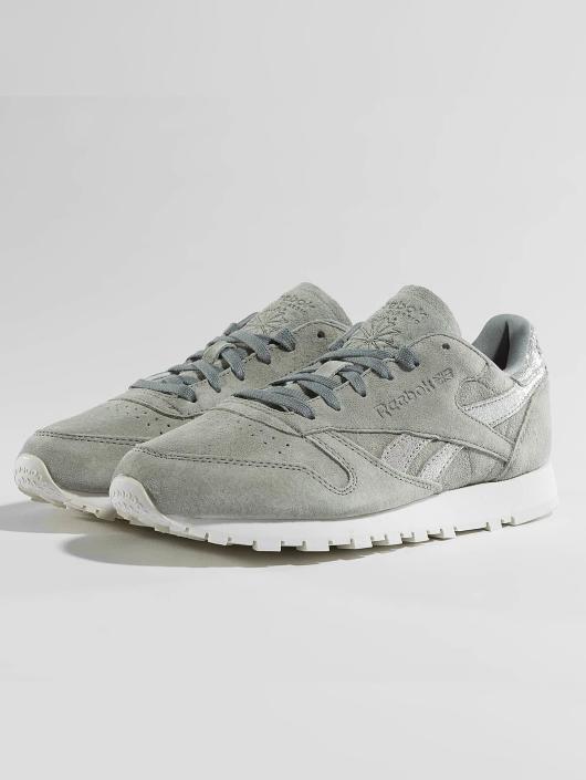 Reebok Tøysko Leather Shimmer grå