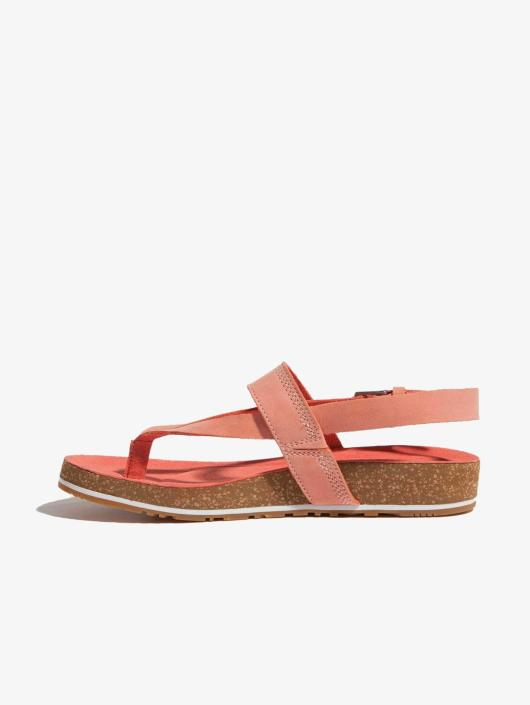half off 1eb86 ef72a Timberland Malibu Waves Thong Sandals Crabapple