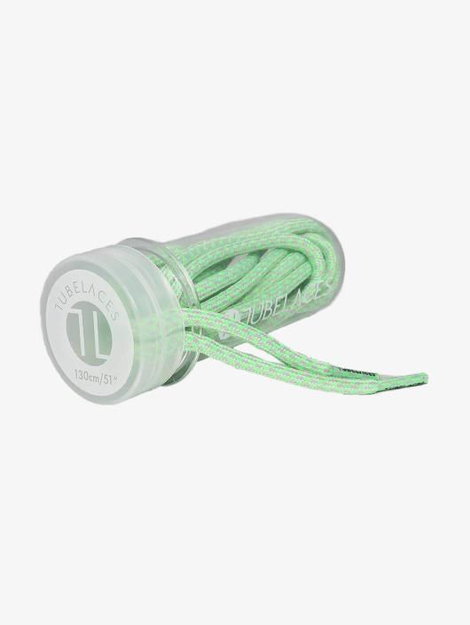Tubelaces Schoenveter Rope Multi groen