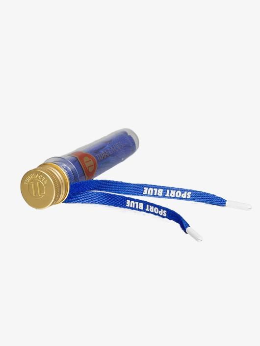 Tubelaces Shoelace Flat Hook Up blue