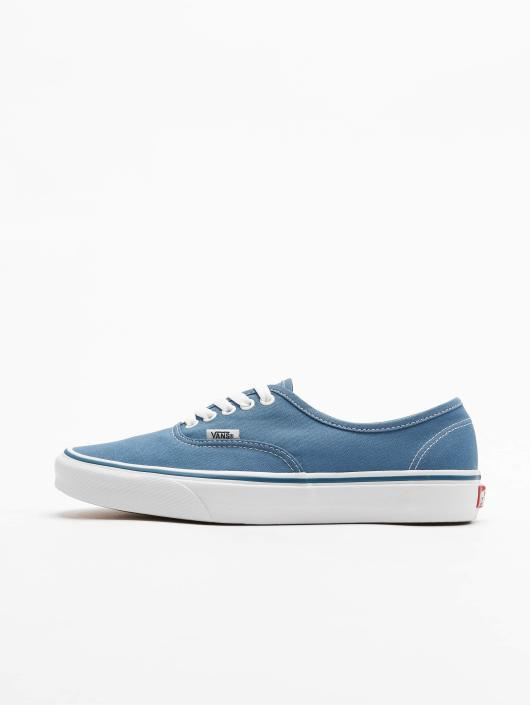 vans bleu authentic