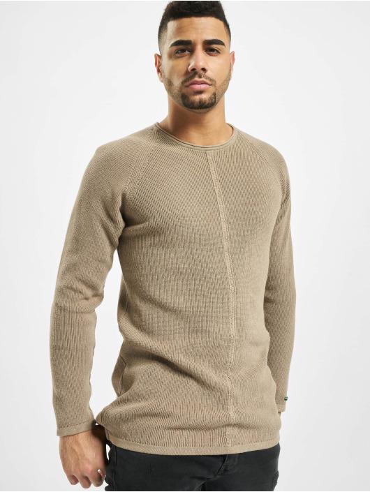 2Y Пуловер Thistle бежевый