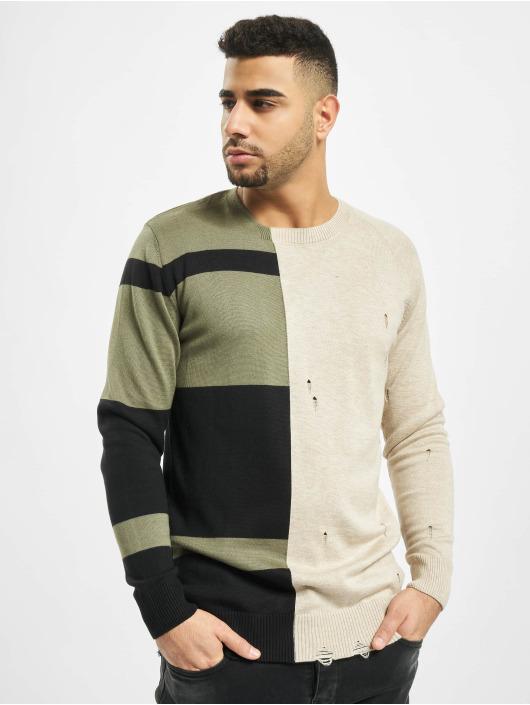2Y Пуловер Poplar бежевый