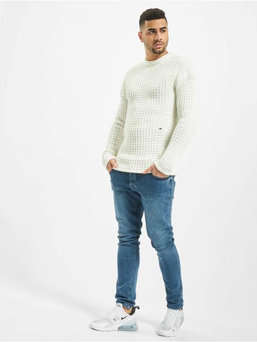2Y Пуловер Twig белый