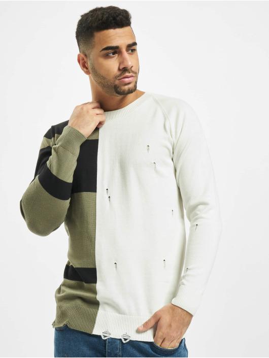 2Y Пуловер Poplar белый
