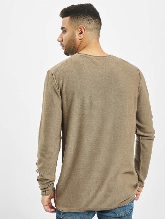 2Y Пуловер Maple коричневый