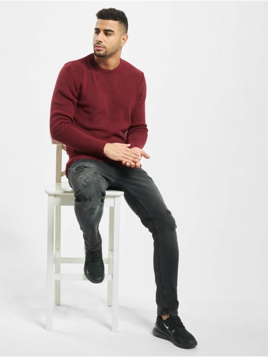 2Y Пуловер Moss красный