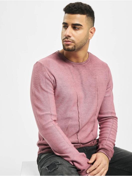 2Y Пуловер Beech пурпурный