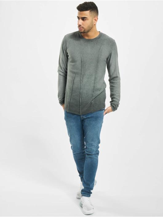 2Y Пуловер Beech серый