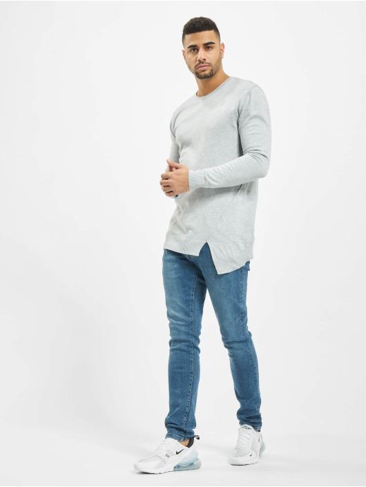 2Y Пуловер Hazel Knit серый