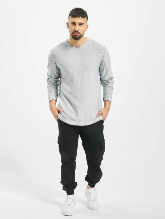 2Y Пуловер Maple серый