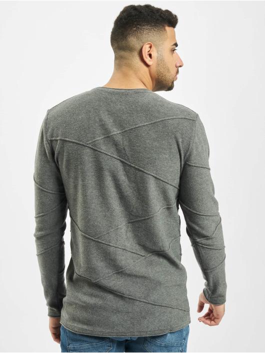 2Y Пуловер Pine серый