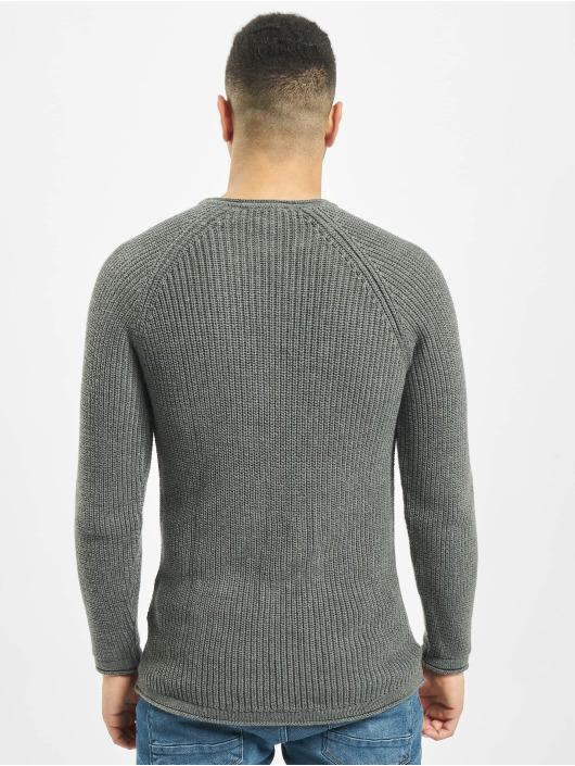 2Y Пуловер Branch серый