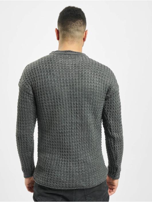 2Y Пуловер Twig серый