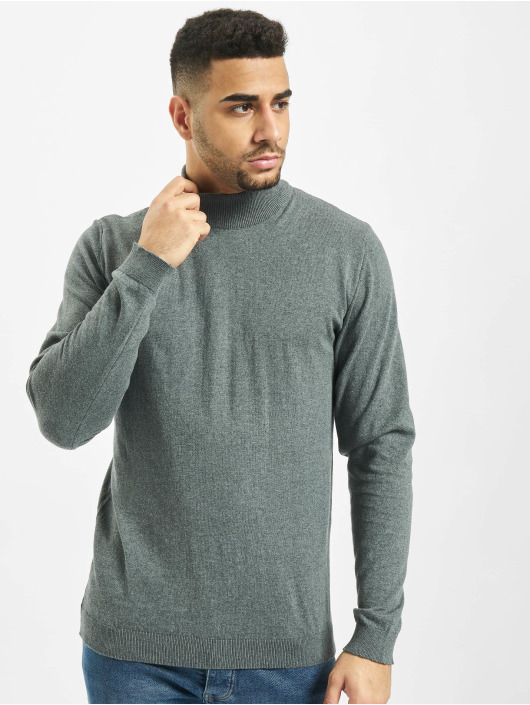 2Y Пуловер Herb серый