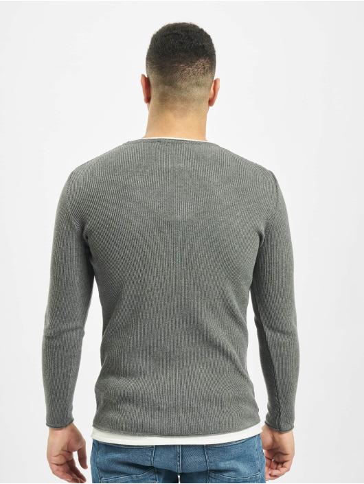 2Y Пуловер Alder серый
