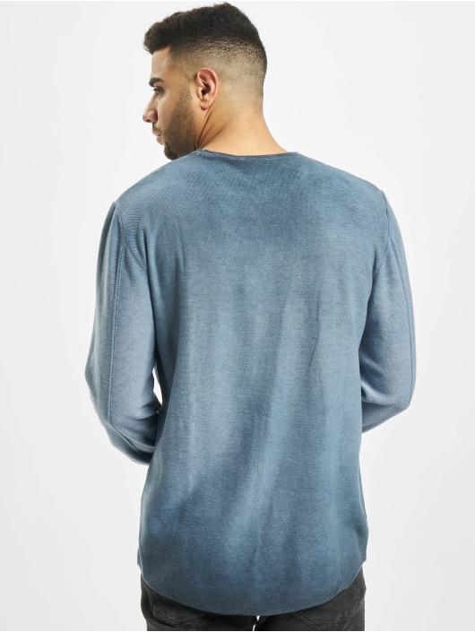 2Y Пуловер Beech синий