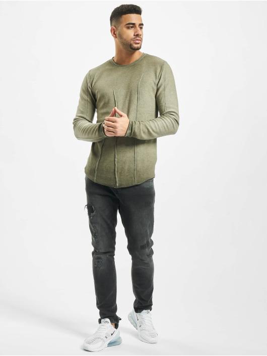 2Y Пуловер Beech хаки