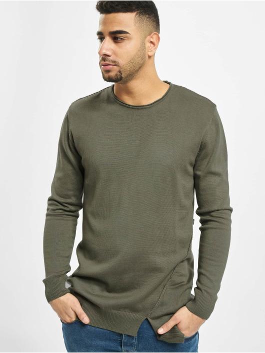 2Y Пуловер Hazel хаки