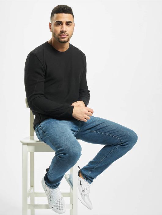 2Y Пуловер Maple черный