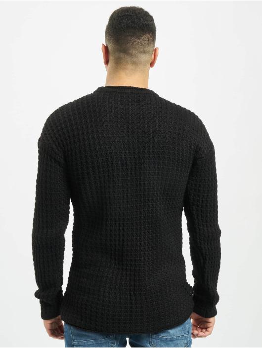 2Y Пуловер Twig черный