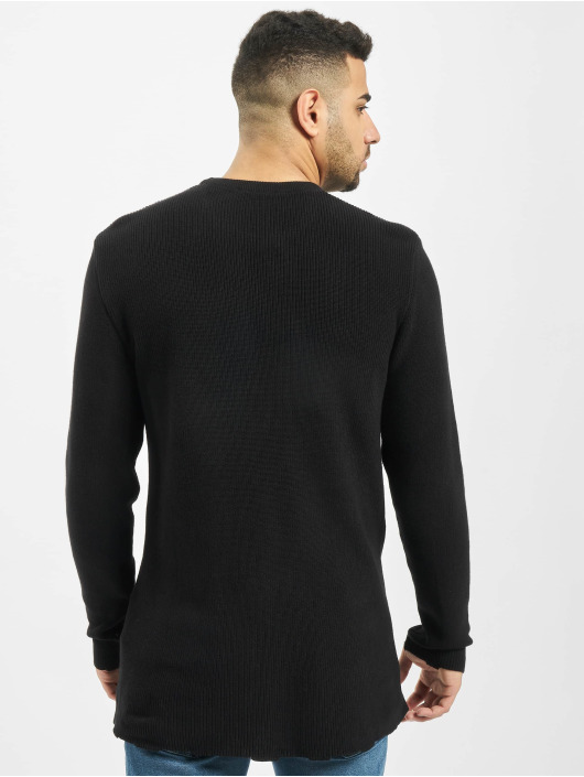 2Y Пуловер Moss черный