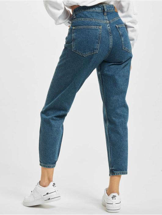 2Y маминых джинсах Mom синий