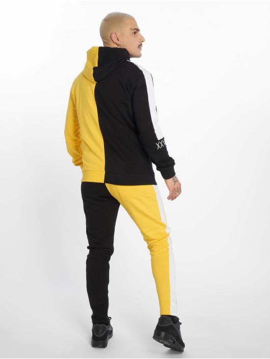 2Y Anzug Dash schwarz