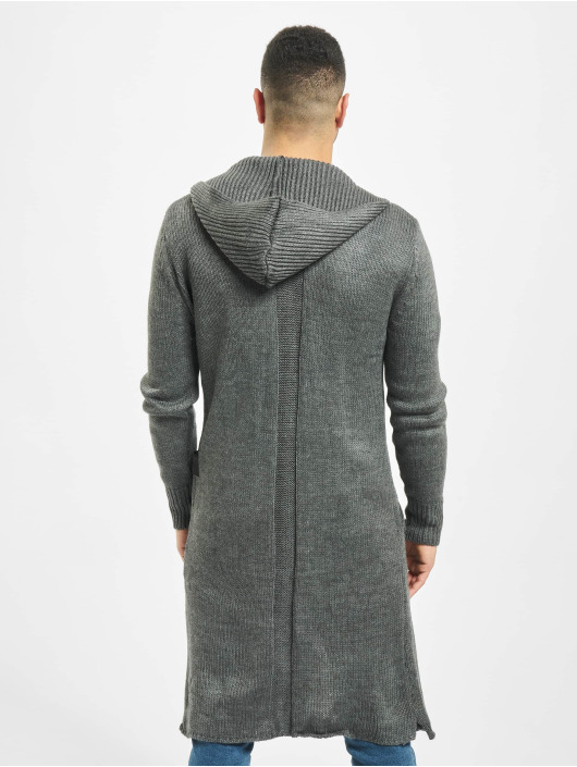 2Y Cardigan Trunk grey