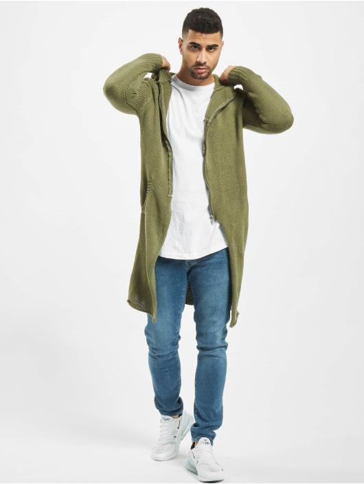 2Y Cardigans Trunk khaki