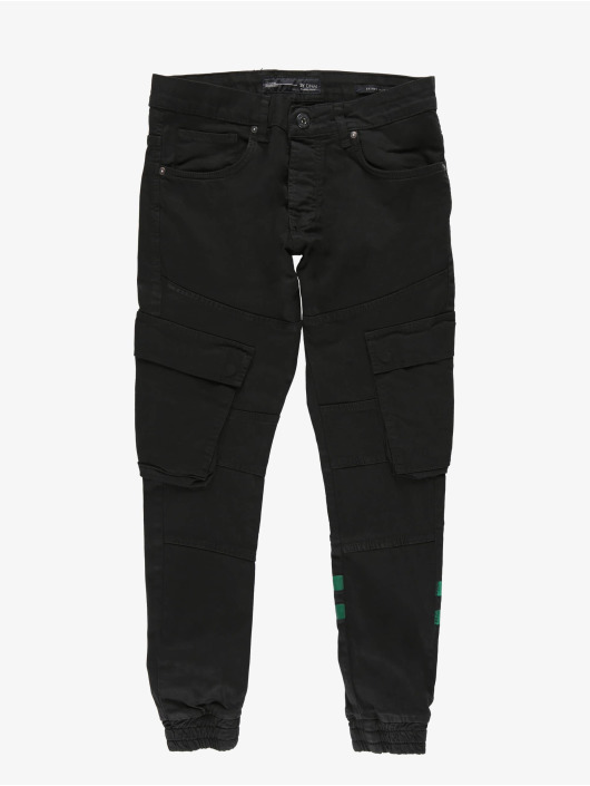 2Y Chino bukser Steven svart