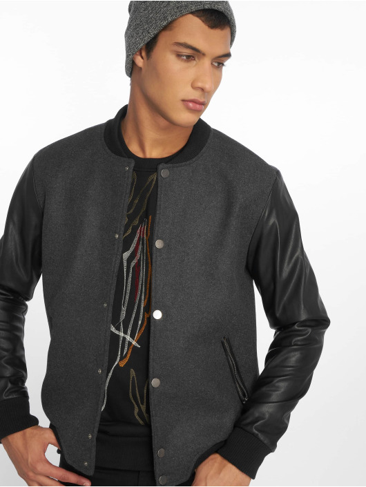 2Y College Jacke Dusty grau