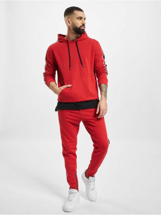 2Y Dresy Hooded czerwony