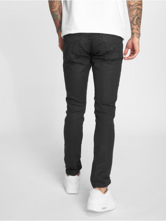 2Y dżinsy przylegające Premium Edition czarny