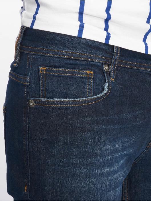 2Y dżinsy przylegające Spencer niebieski