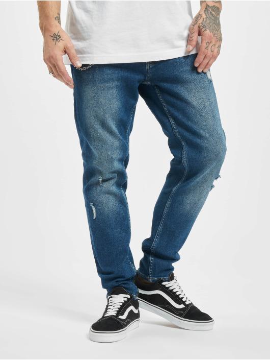 2Y dżinsy przylegające Cody niebieski
