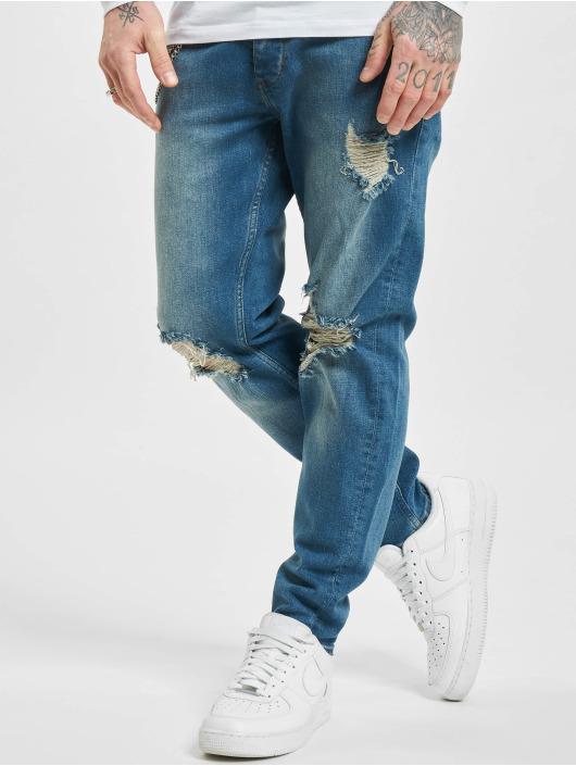 2Y dżinsy przylegające Claas niebieski