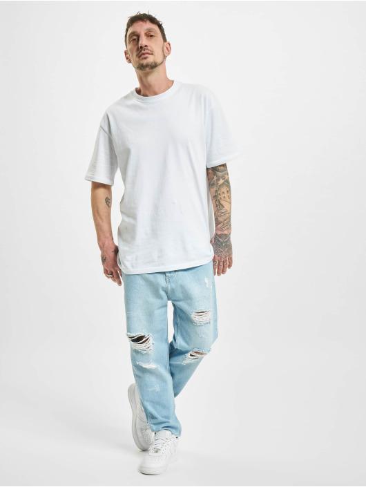 2Y Dżinsy straight fit Billings niebieski