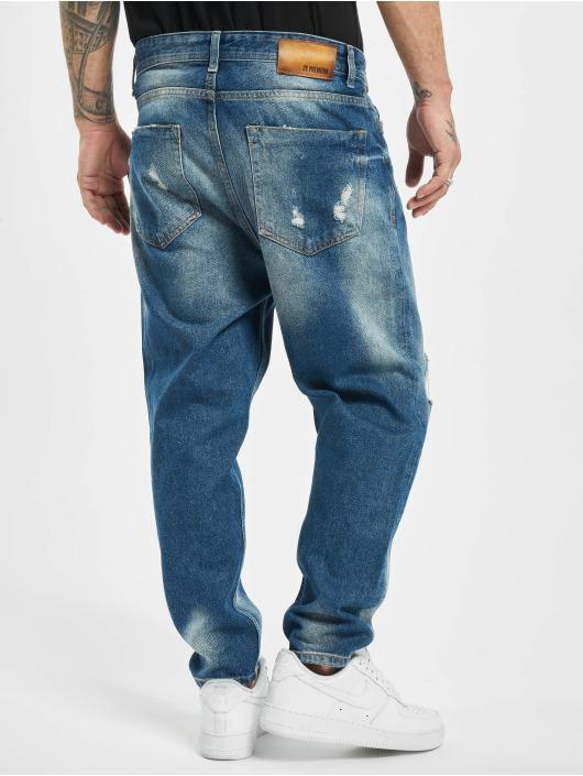 2Y Jean large Zion bleu
