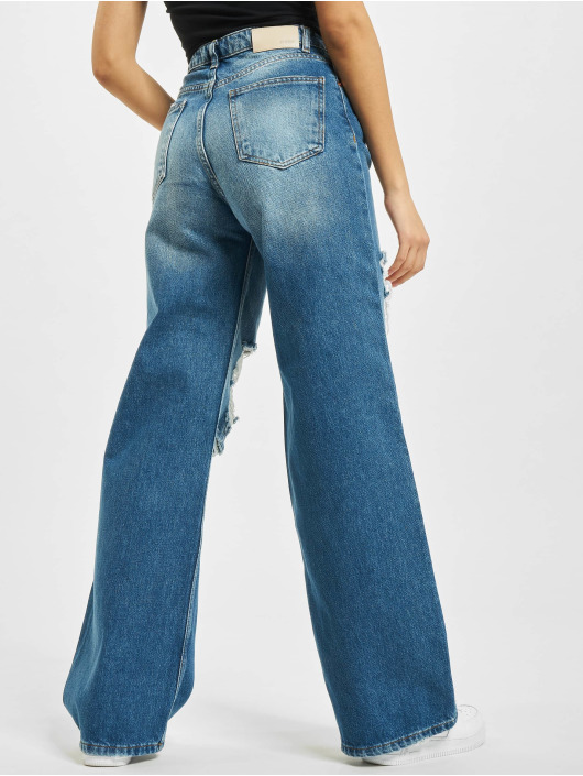2Y Jean large Melinda bleu