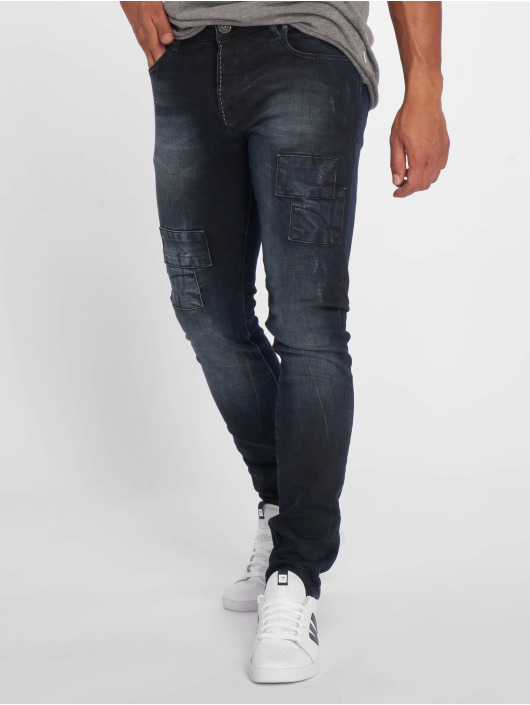 2Y Jean slim 075741 bleu